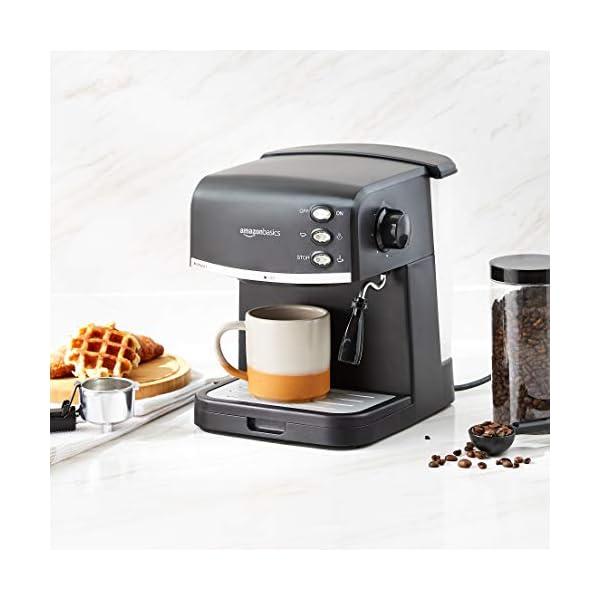 Amazon Basics - Macchina da caffè espresso 5