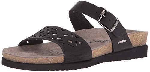 - Mephisto Women's HIRENA Slide Sandal, Black, 10 M US