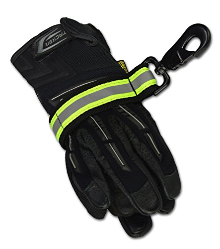 Lightning X Heavy-Duty Firefighter Turnout Gear Glove Strap w/ Reflective