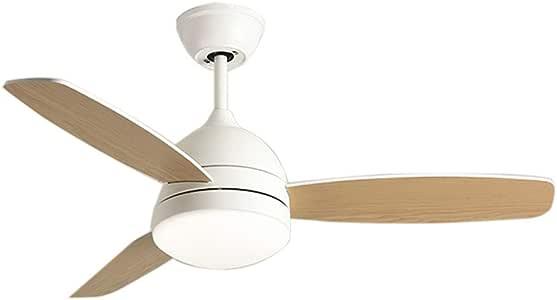Ceiling Fans Ventilador de Techo eléctrico con luz LED (3 aspas de Madera para Ventilador): Amazon.es: Hogar