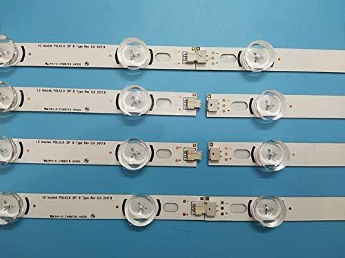 24 PCS LED Backlight Strips Bars for LG TV 39LN540V 39LN570V 39LA620V innotek HC390DUN POLA2.0 39 inch A B - Cable Length: Other Cables 100/% New Occus