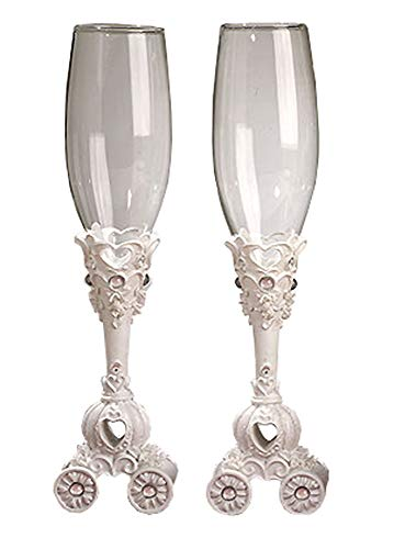 CC416 Fairytale Theme Toasting Glasses Wedding Favors & Accessories