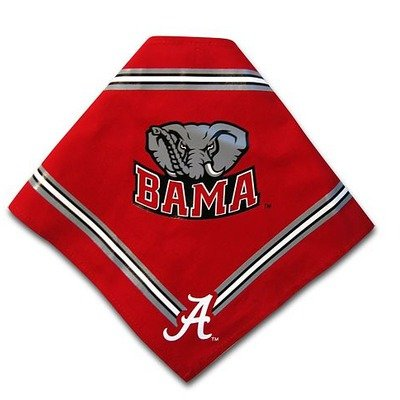 Collegiate Alabama Crimson Tide Pet Bandana, Small - Dog Bandana must-have for Birthdays, Parties, Sports Games etc..