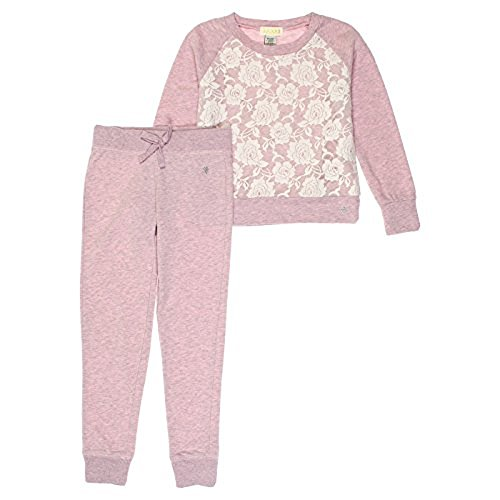 Guess Big Girls 2-Piece Sweatshirt & Lounge Pants Set (6, - Guess Outlet Store