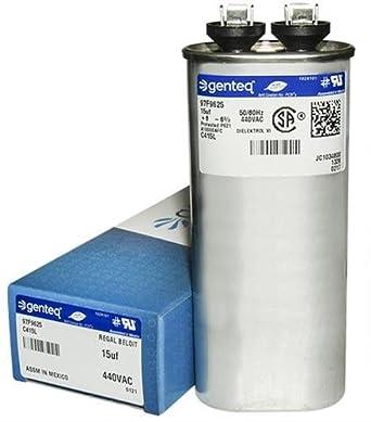 Jard 12934 15 Uf Mfd X 440 Vac Genteq Replacement