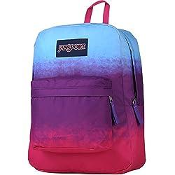 JANSPORT Superbreak Backpack, Purple Night Ombre