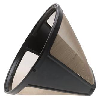 KRUPS F0494210 Gold Tone Permanent Filter Black Groupe SEB 8000003096