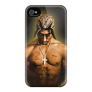 Iphone 4/4s Case Bumper Tpu Skin Cover For 2pac Accessories