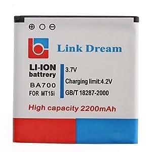 Link Dream High Quality 3.7V 2200mAh Cell Phone Battery for Sony BA700