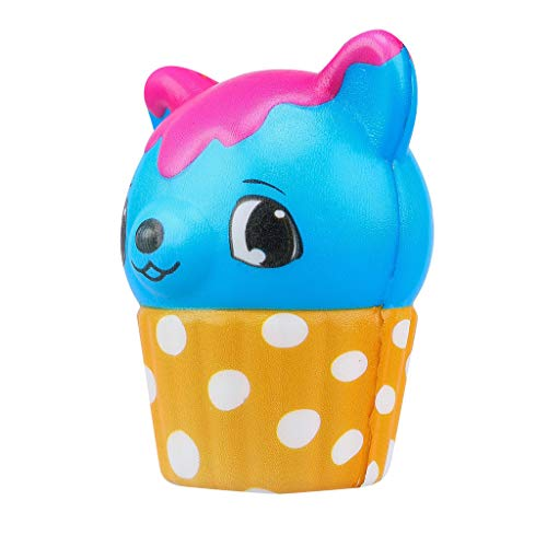 Mikilon Mini Squishies Strawberry Deer Cupcake Squishy Scented Slow Rising Silly Kawaii Squishies Charms Kids Toys Gift Party Favors Supplies]()
