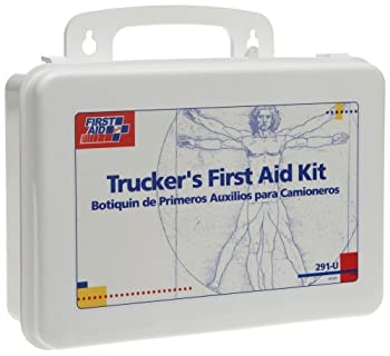 First Aid Only 16 Unit Trucker First Aid Kit, 88-Piece Kit