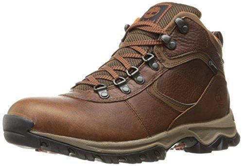 Timberland Men's Mt. Maddsen Mid Leather Wp Ankle Boot, medium brown full grain, 9.5 Medium US