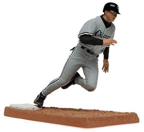 McFarlane Toys MLB Series 9 Figure: Magglio Ordonez with Gray Chicago White Sox Jersey ()