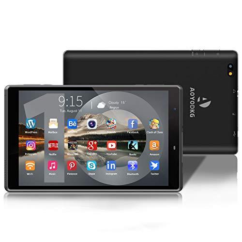 Tablet 8 inch Android 10 WiFi Tablet PC, 3 GB RAM 32 GB ROM/128 GB uitbreidbaar, Google GMS gecertificeerd, Quad-Core…