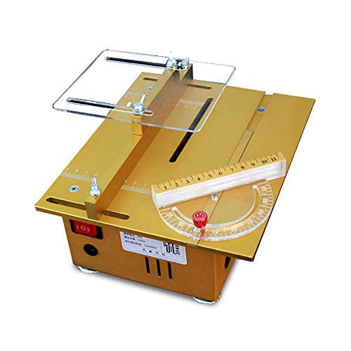 - Mini Electric Table Saw Variable Speed Control Tabletop Saw for Woodworking Bench Lathe Electric Polisher Grinder Cutting Hobby And Craft Power Tools, AC100V-230V DC24V