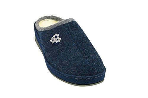 Marine Azul Damen Ohne 5 Blau pantolette Marke grau 320188 TZx6w0Pq