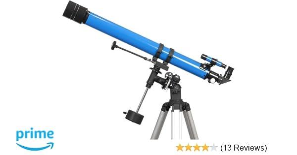 Amazon ioptron  refractor telescope blue