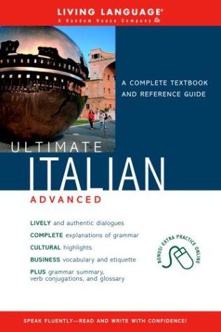 Ultimate Italian Advanced (Book) (Ultimate Advanced) pdf
