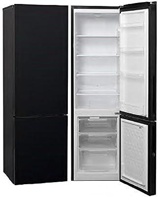 Combi Con Capacidad total 252L Biolaper Puertas en cristal negro ...
