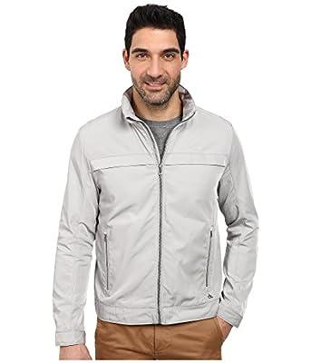 Calvin Klein Men's Poly Twill Jacket with Hidden Hood