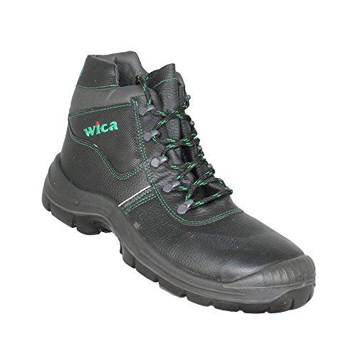 WiCa - Calzado de protección de cuero para hombre blanco blanco 41 LD68Da