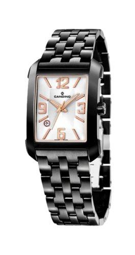 Candino C4381-1 - Reloj analógico de mujer de cuarzo con correa de acero inoxidable