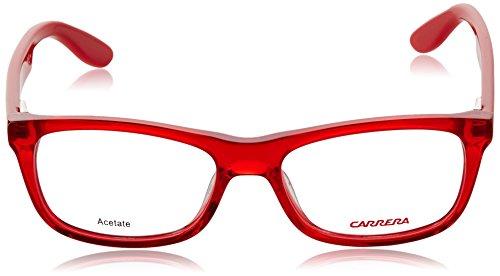 Carrera - CARRERINO 57 (FOR KIDS), Géométriques, acétate, homme, RED(TSI), 49/15/125