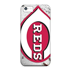 5c Scratch-proof Protection Case Cover For Iphone/ Hot Cincinnati Reds Phone Case