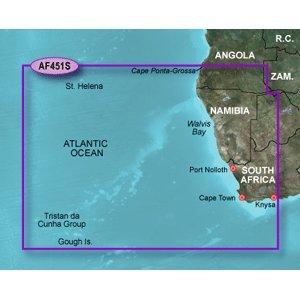 Garmin Bluecahrt G2 - HXAF415S - Namibia to Knysna, SA - Micro SD & SD by Garmin (Image #1)