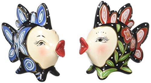 (Appletree Design Clown Fish Salt and Pepper Set,)