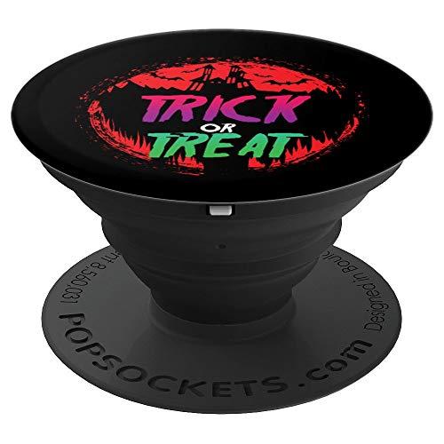 Trick Or Treat Pop Socket - Halloween Spooky