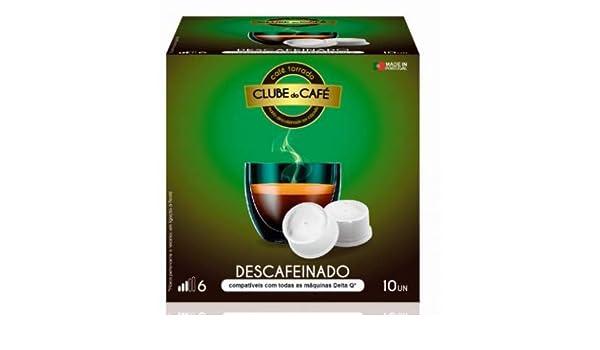 Cápsulas Delta®* Q Compatibles Descafeinado 10 unidades ...