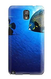 Hot Tpye French Angelfish Case Cover For Galaxy Note 3