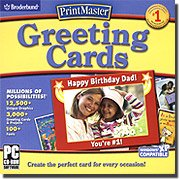 Printmaster Greeting Cards (XP Compatible)