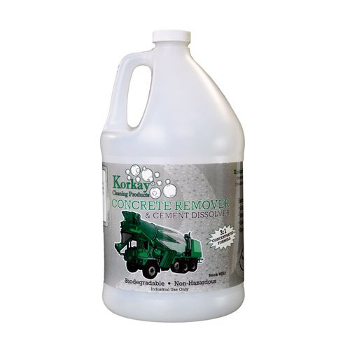 Korkay Concrete Remove and Cement Dissolver - 1 gallon