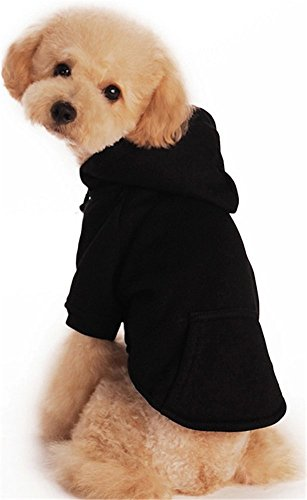 YAAGLE Pet Casual Warm Sweater Sport Hoodie Sweatshirt Clothing Apparel with Pocket for Dog Puppy (Dog In Wizard Of Oz)