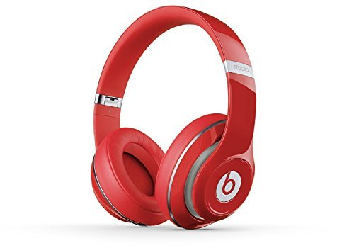 Beats Studio 2.0 WIRED Over Ear Headphone - Red NOT WIRELESS (Certified Refurbished) by Beats
