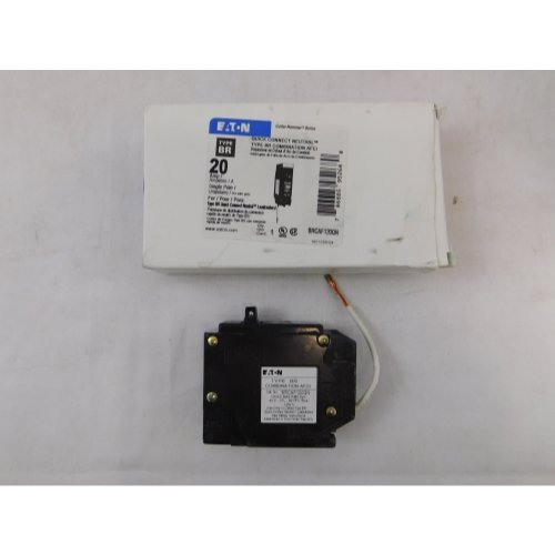 Cutler Hammer Eaton BRCAF120QN AFCI Combo BR 20 Amp Quick Connect Breaker