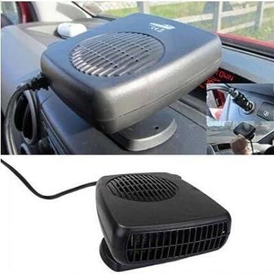 xerdyn £ ¨ TM £ © 2016 Nuevo 12 V coche calentador secador de pelo ventilador de refrigeración de alta calidad plegable mango Van Demister y V)
