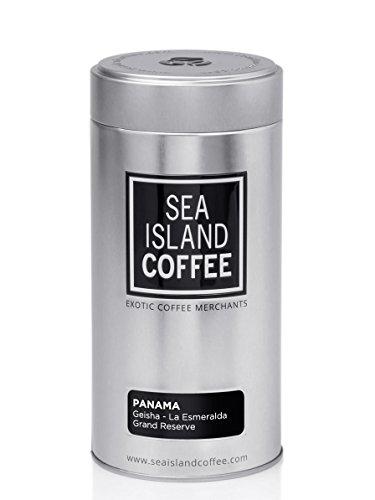 Hacienda La Esmeralda Grand Reserve Geisha, Panama - Whole Bean Coffee (8.8 Oz Tin) by Sea Island Coffee (Image #2)