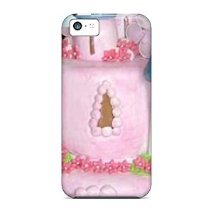 Premium Durable Castle Cake Fashion Tpu Iphone 5c Protective Case Cover