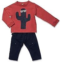 Conjunto Blusa e Calça Cacto Vermelha Green - Toddler Menino