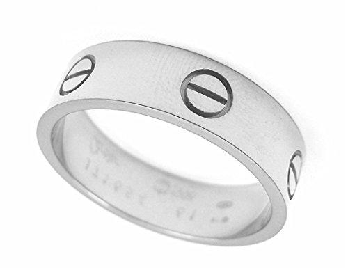 MARAT Brands® Stainless Steel Designer Inspired Love Ring White Gold (7)