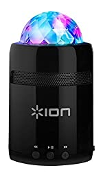 ION Audio Party Starter MK II   Pocket-Sized Bluetooth Speaker with Built-In Beat-Sync Light Show (3W)