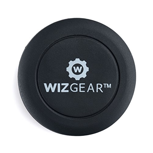 WizGear-Extra-Slim-Universal-Stick-on-Flat-Dashboard-Smartphone-Magnetic-Car-Mount-Holder