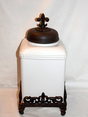 cast iron canister set - 1