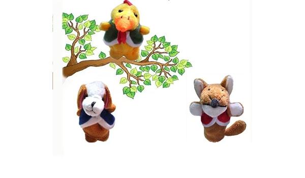 Homgaty – el perro, el gallo y el zorro animales marionetas ...