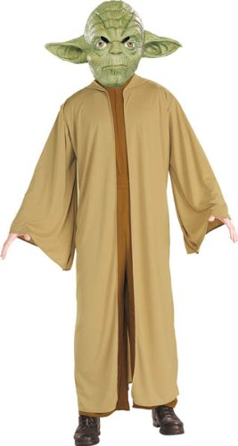 Adults For Costums Halloween (Disney Star Wars Yoda Adult)