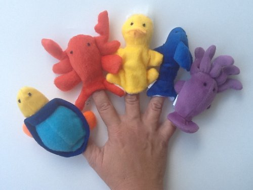 Sea Creature Ocean Creature Plush Finger Puppet