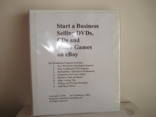 Start A Business Selling Dvds Cds And Video Games On Ebay Selling Via Online Auctions Volume 1 Sell Dvds Nat Chiaffarano Mba Amazon Com Books